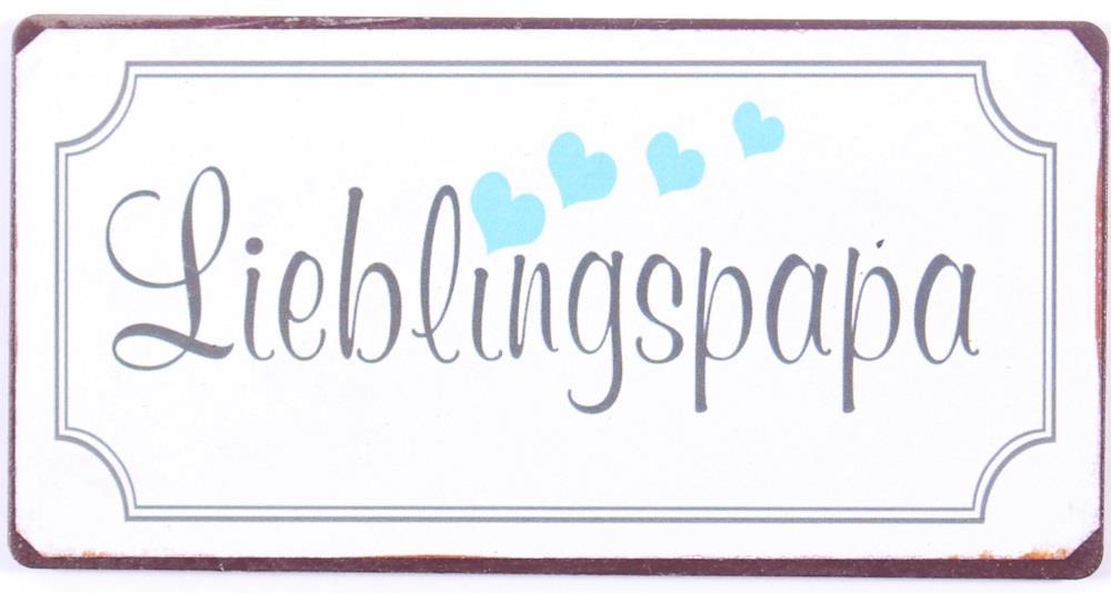 Witzigschilder - Magnet Lieblingspapa - Onlineshop Tante Emmer