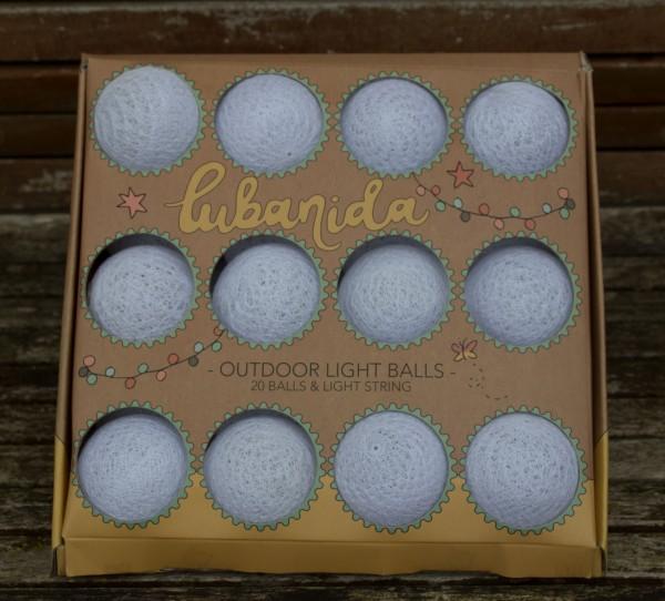 """Lichterkette """"Blanco"""" mit 20 Light Balls Outdoor"""