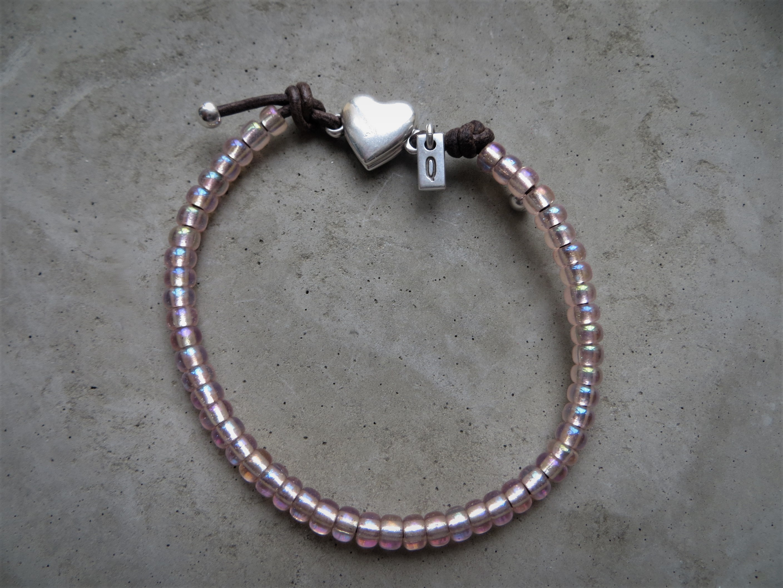 Armbaender für Frauen - QOSS Armband PUCK Rosé L  - Onlineshop Tante Emmer
