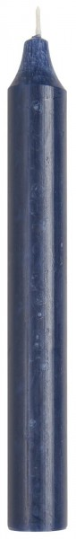 Kerze/ Stabkerze rustikal Marineblau, Ib Laursen ApS