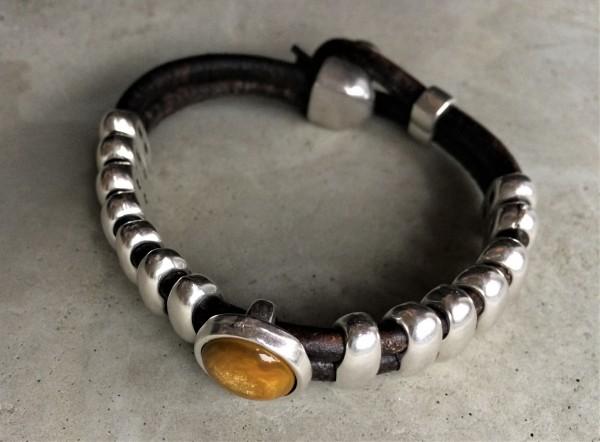 QOSS Armband OLIVIA ockergelb M