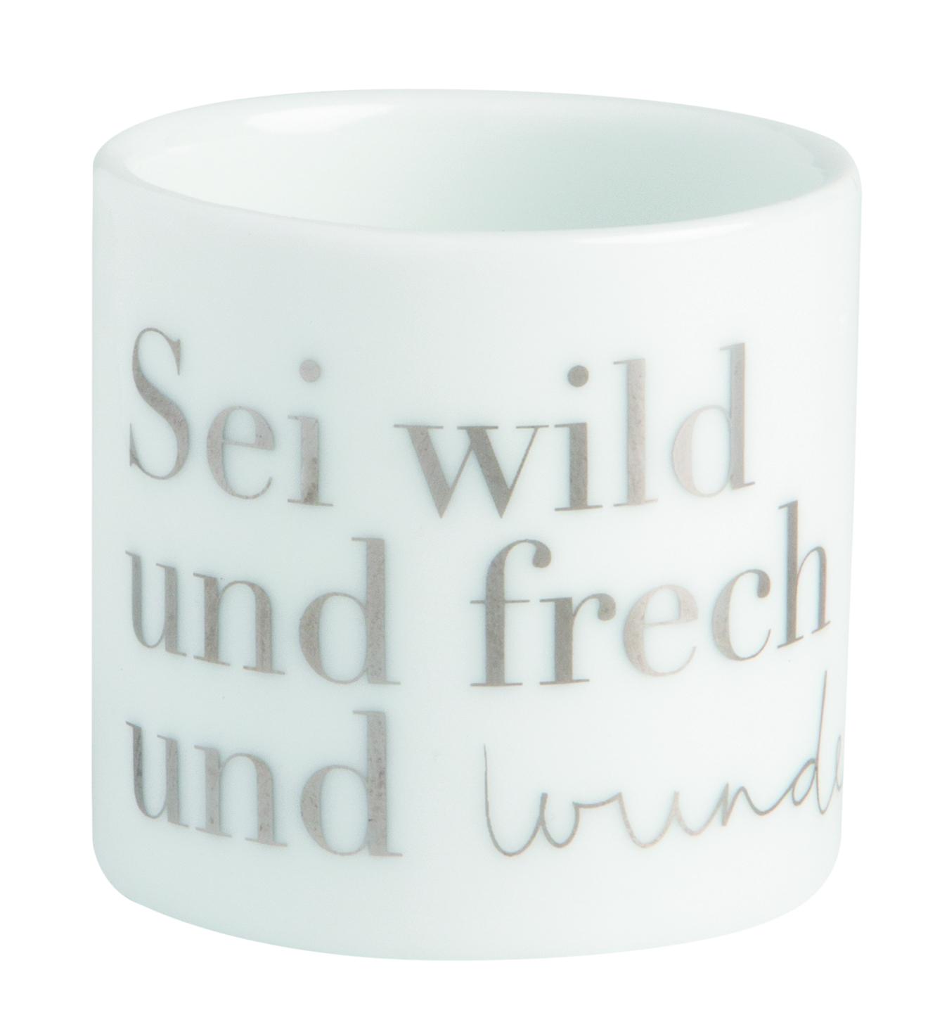 Nützlichdekoration - Teelichthalter Helle Freude Wunderbar räder - Onlineshop Tante Emmer