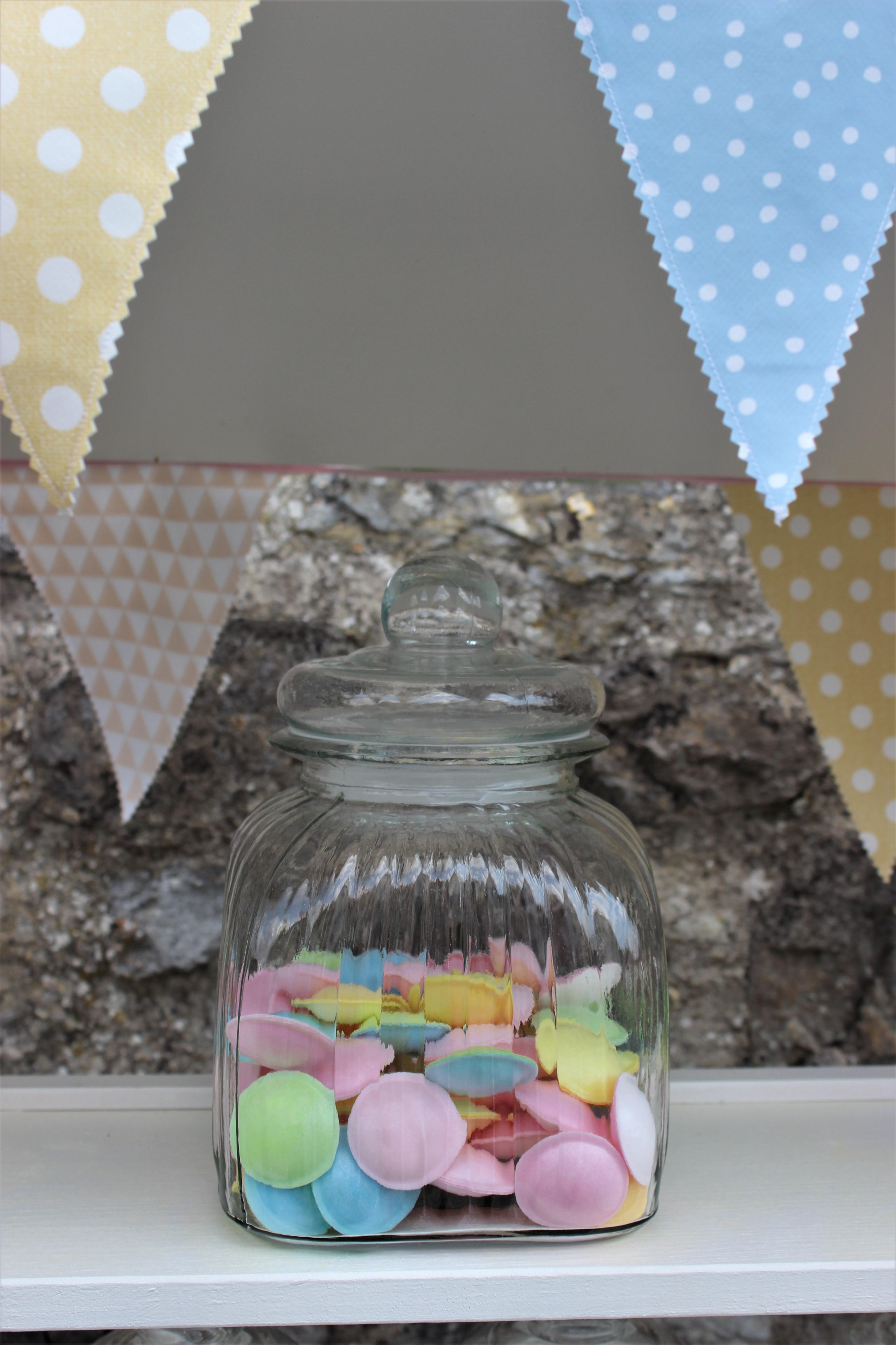- Ausleihe Glas für Candy Bar eckig16x24cm - Onlineshop Tante Emmer