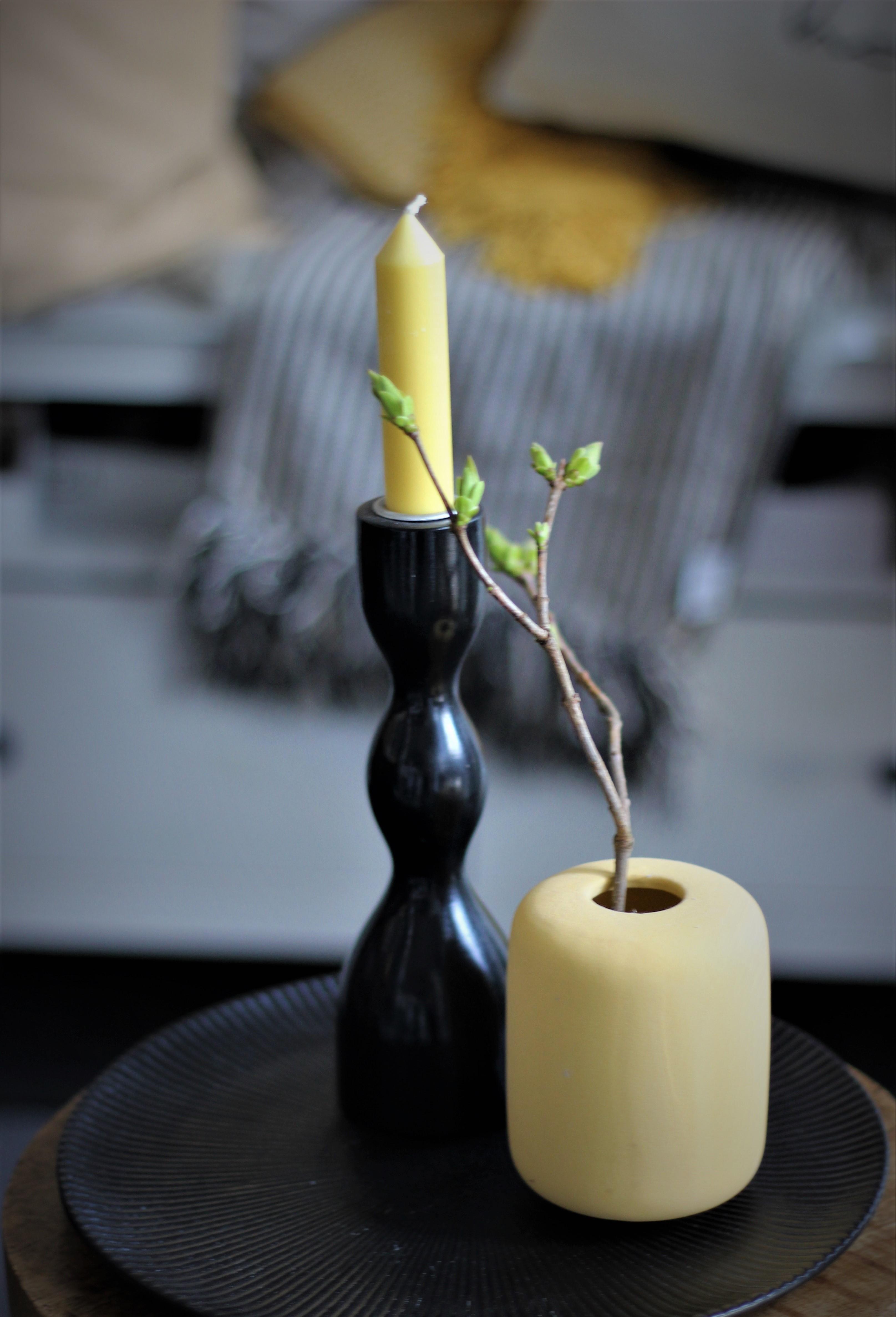 Nützlichdekoration - Vase YELLOW 105cm Bloomingville - Onlineshop Tante Emmer