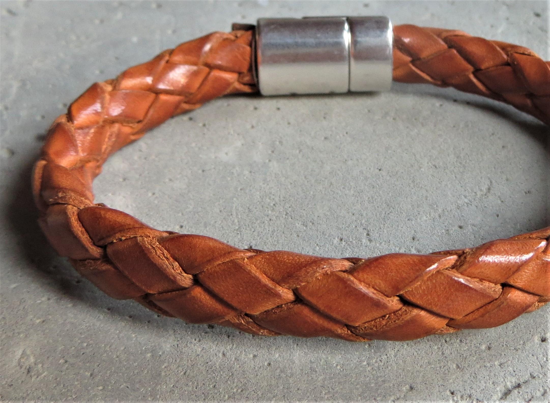 QOSS Armband WILLEM Natural für IHN L