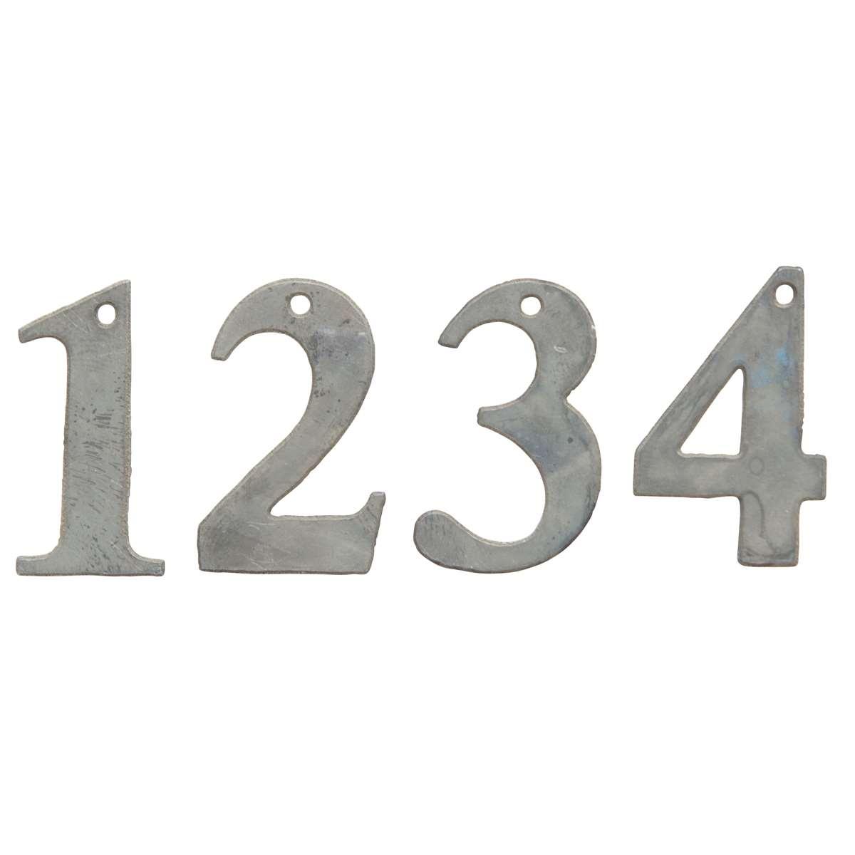 Zahlen 1 4 für Kerzen Adventskrans Metall Ib Laursen ApS