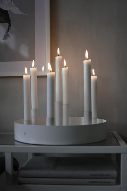 Nützlichdekoration - SUND Kerzenhalter Weiß 31cm Storefactory - Onlineshop Tante Emmer