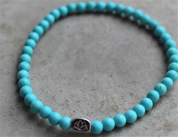 MAS jewelz Armband Türkis 4mm