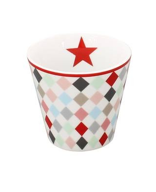 Mug Espressobecher Harlekin multicolour