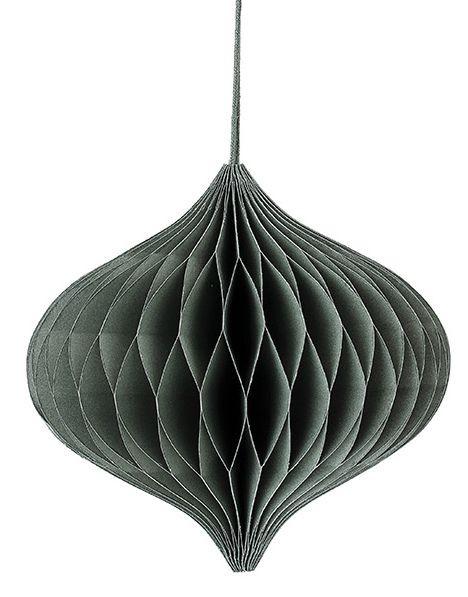 Ornament, 14x18 cm, Grün