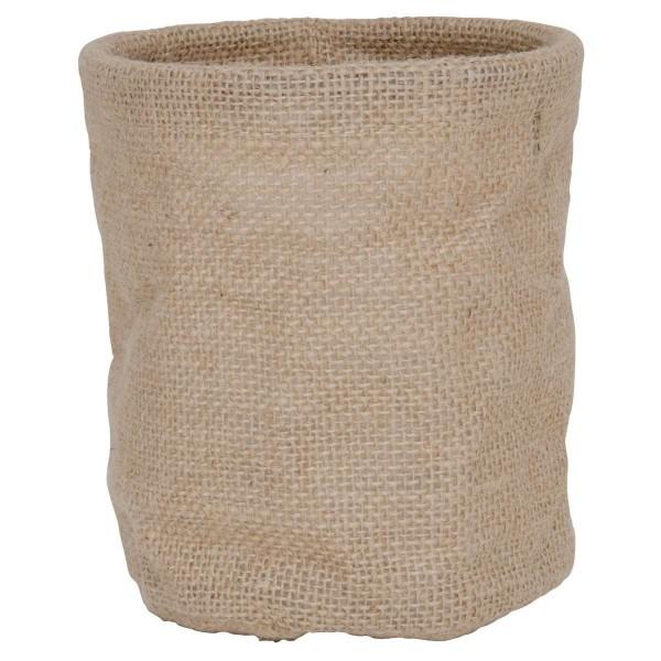 Sack/Tüte aus Jute mit Plastiktüte innen Ib Laursen ApS