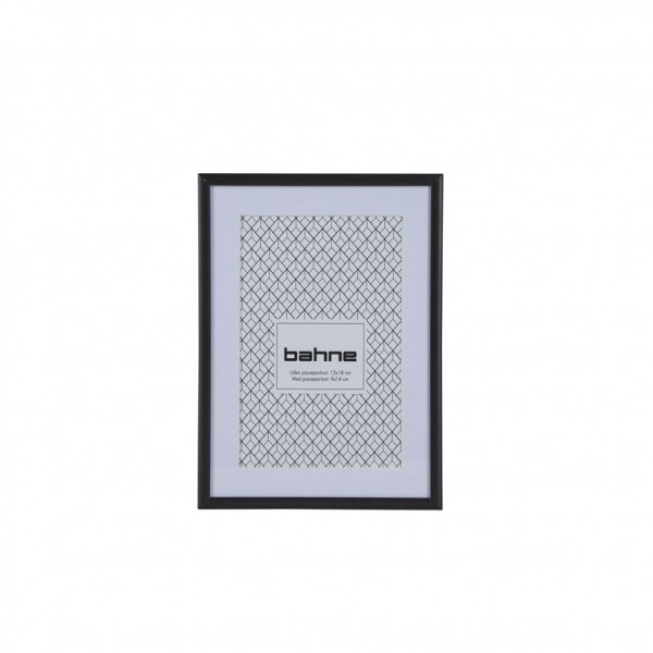 schwarzer Bilderrahmen 13 x 18 cm bahne&co