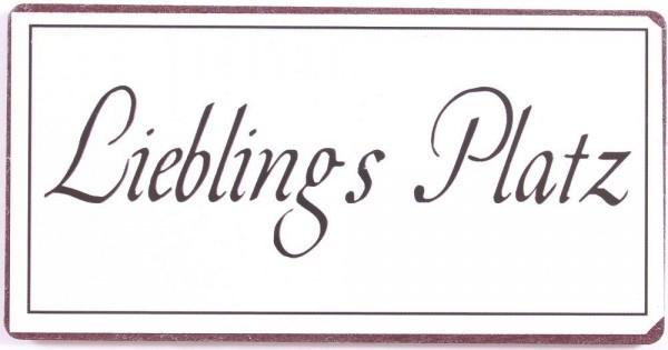 "Magnet ""Lieblings Platz"" La Finesse"