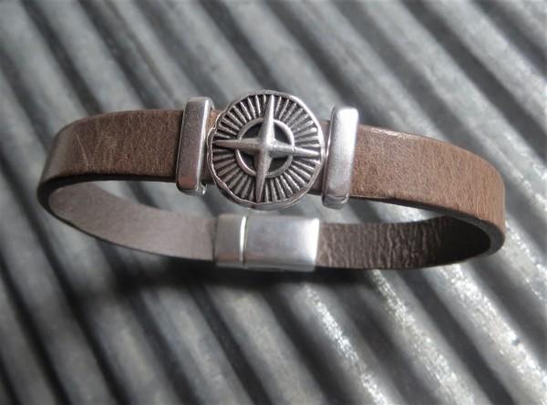 QOSS Armband LUUK Taupe für IHN, XL