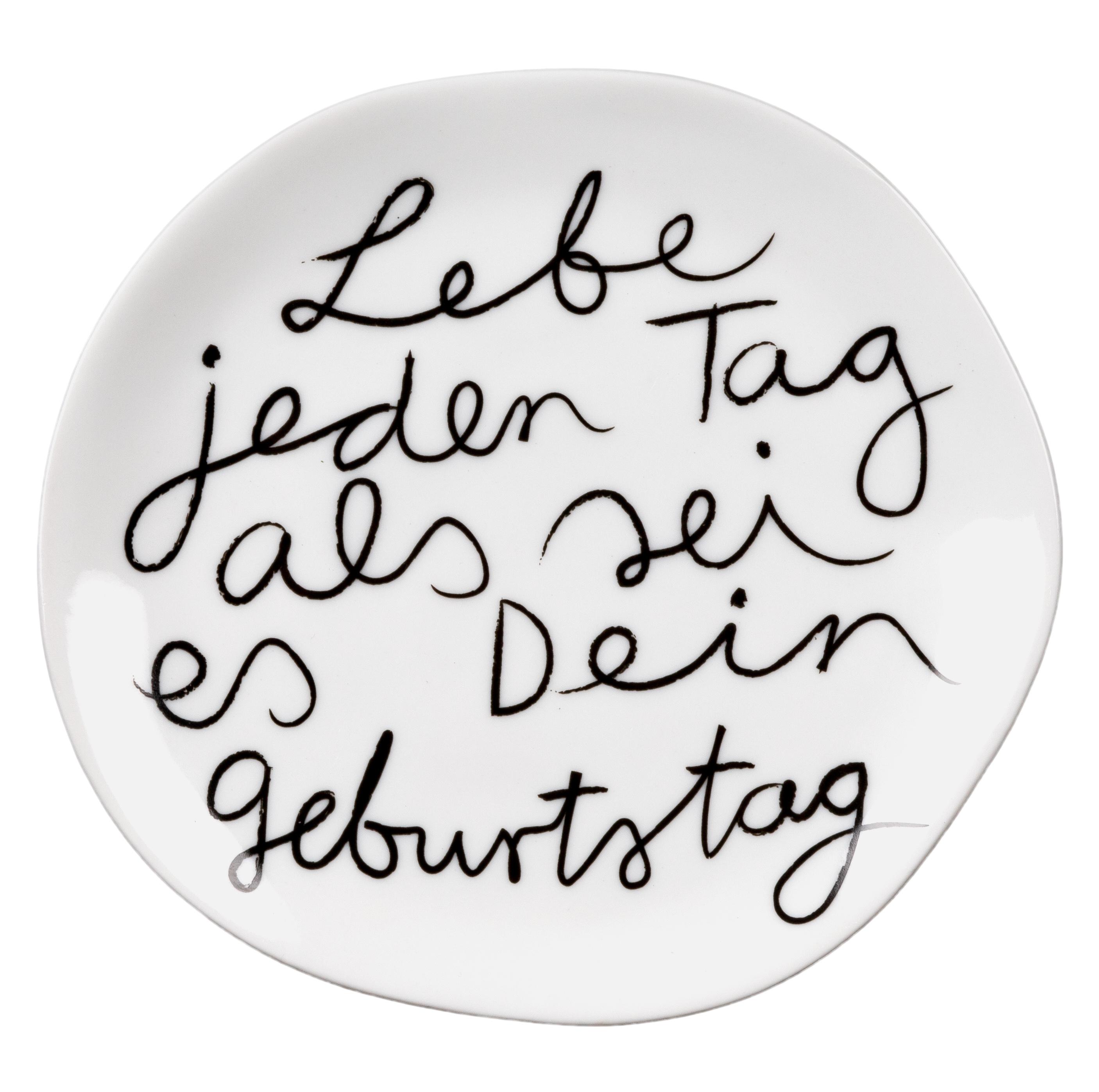 - Mix Match Teller Lebe jeden Tag als sei es dein Geburtstag 134cm räder - Onlineshop Tante Emmer