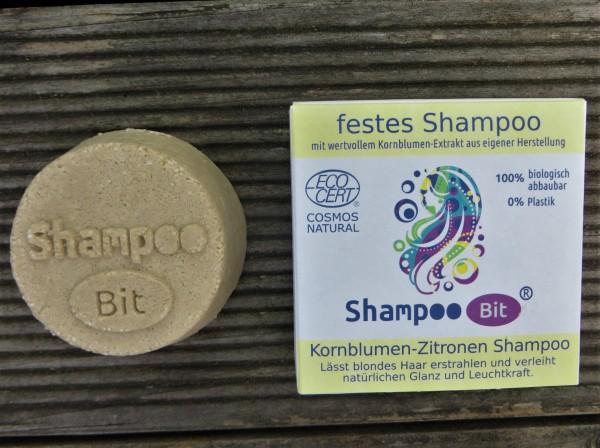 """ShampooBit """"Kornblumen-Zitronen"""", Rosenrot"""