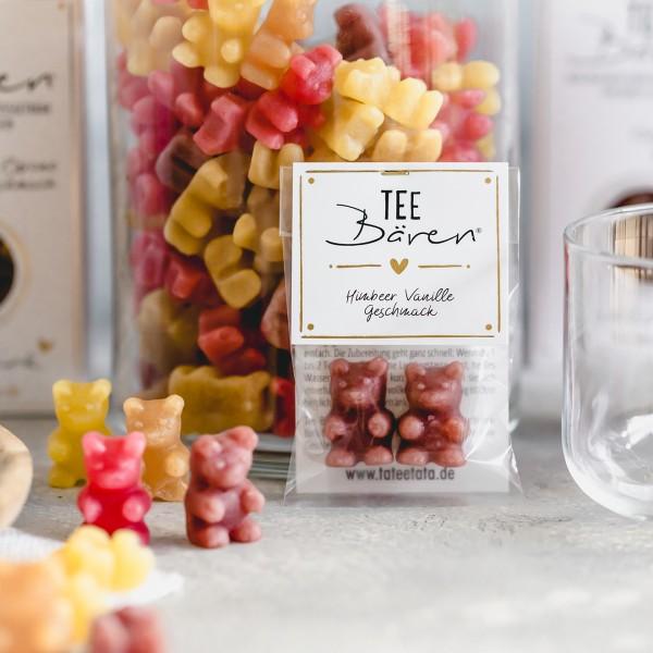 Tee-Bären mini 10 g Himbeer Vanille TaTeeTaTa