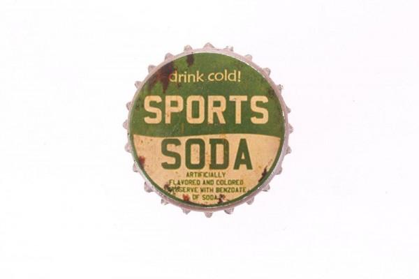 "Magnet in Kronkorkenform ""Drink Cold Sports Soda"" Lafinesse"
