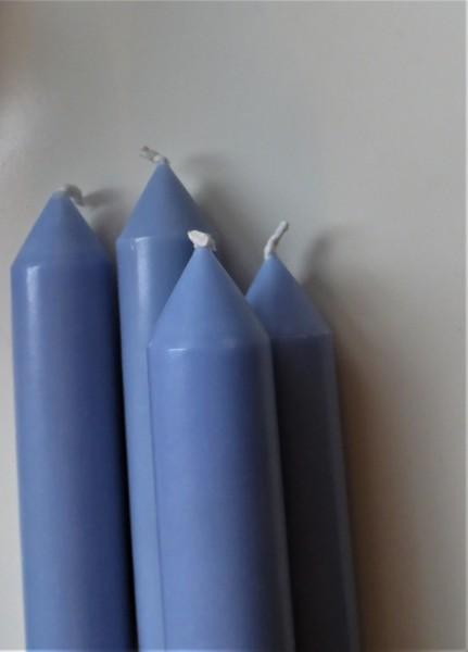 Stabkerze blau/grau