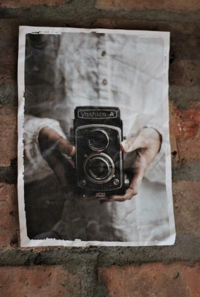 "Leinwand ""Kamera"", A5, More than Canvas"