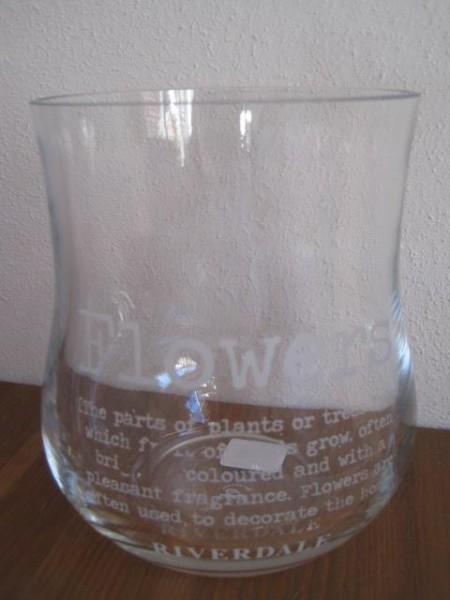 "Vase ""Flowers"", 15cm Riverdale"