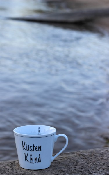 "Happy Cup Tasse ""Küstenkind"" 400ml, Krasilnikoff"