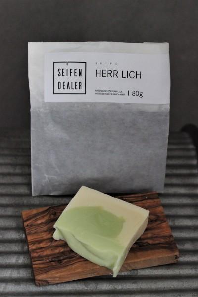 Seife HERRLICH (Bergamotte, Zitrone)