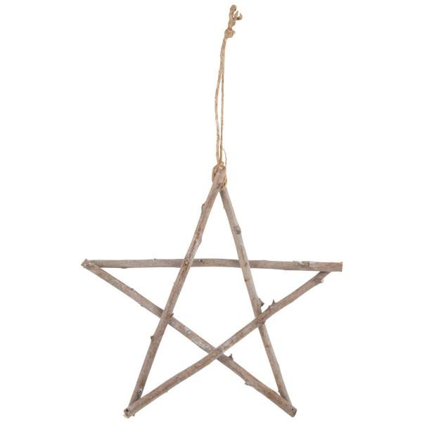 Stern aus Stäbchen 30 cm