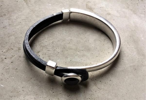 QOSS Armband EVA schwarz/ schwarz S
