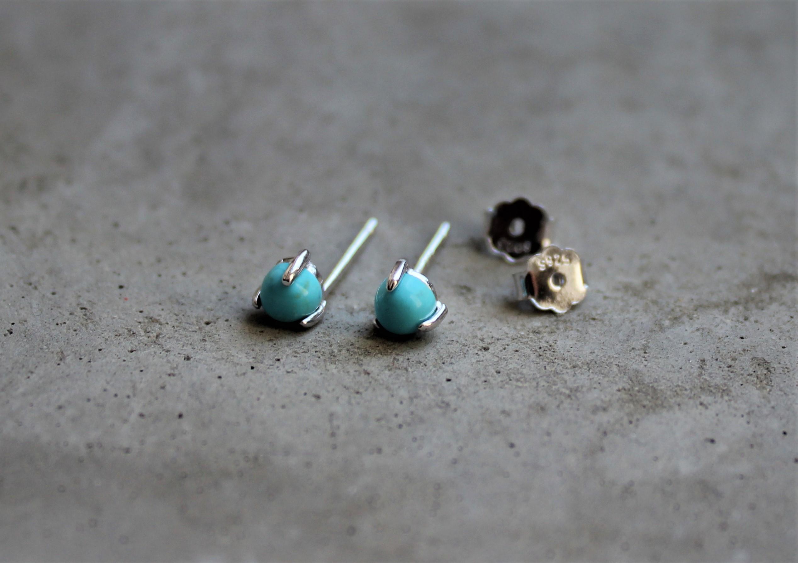 Ohrringe für Frauen - MAS jewelz Ohrstecker Türkis Silber  - Onlineshop Tante Emmer
