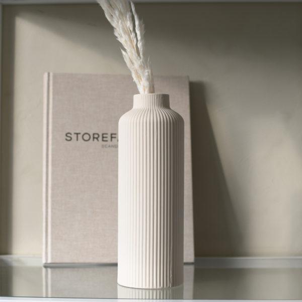 Nützlichdekoration - ÅDALA Vase Beige 23cm Storefactory - Onlineshop Tante Emmer