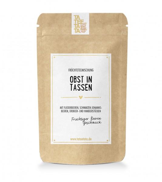 "100g-Tüte Früchte-Tee ""Obst in Tassen"" TaTeeTaTa"