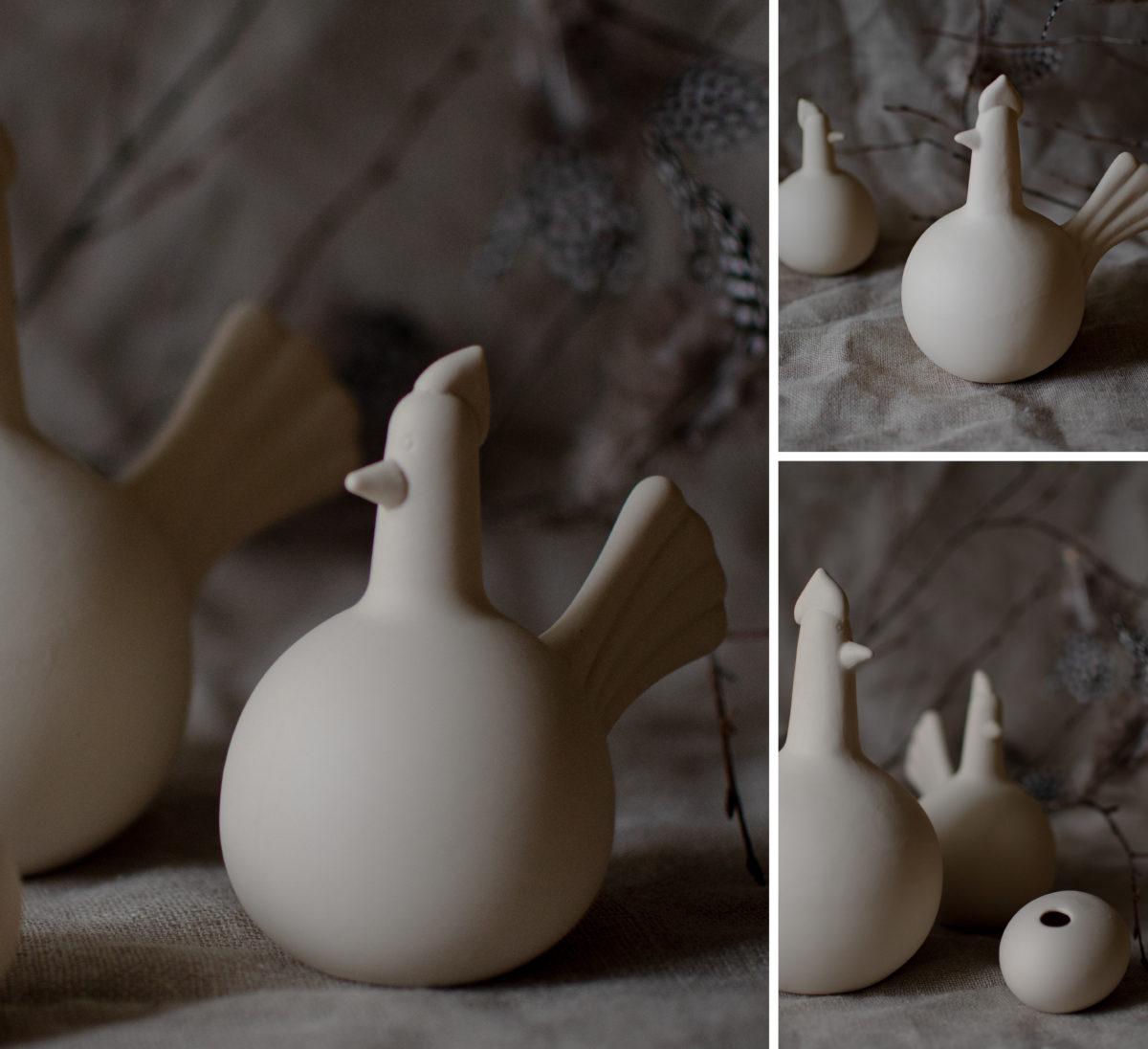 - HJÖRDIS Henne Huhn aus Keramik S 11 cm Beige Storefactory - Onlineshop Tante Emmer
