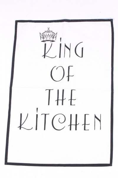 """Geschirrhandtuch """"King of the kitchen"""""""