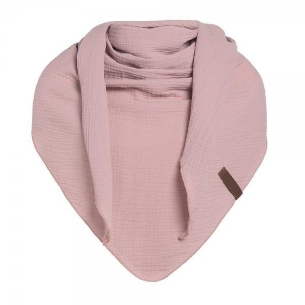 Knit Factory Dreieck-Schal LIV, Rosa