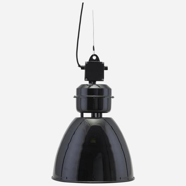 Retro Lampe schwarz, Fabrik . Style