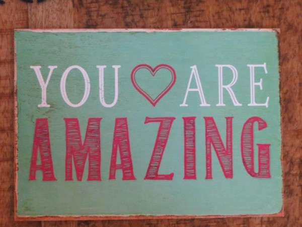 "Postkarte ""Your are amazing"""