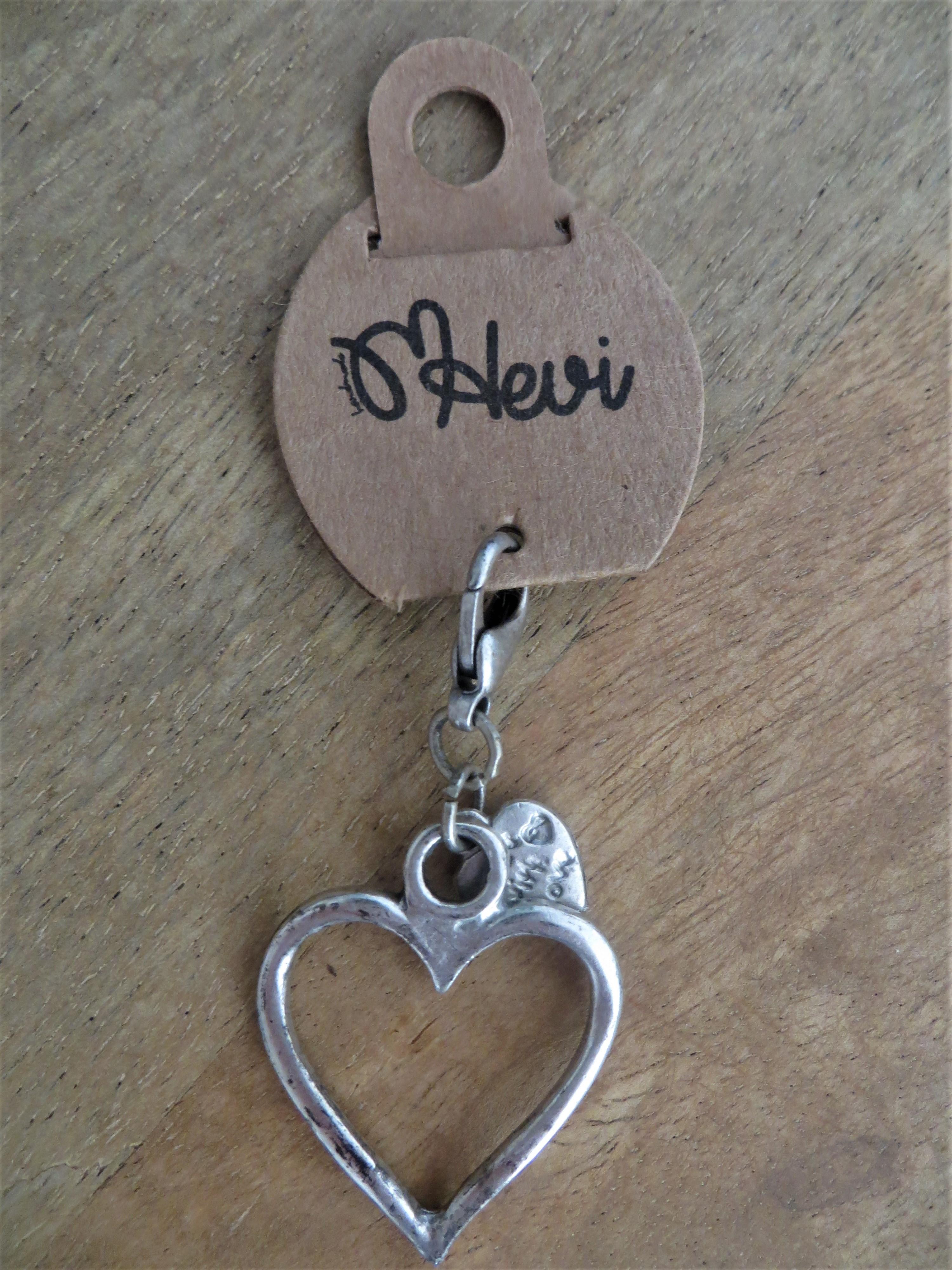 Schlüsselanhänger Herz 3 cm