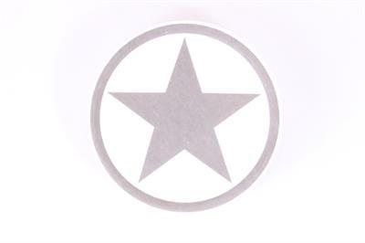 Steinuntersetzer grauer Stern aus Keramik La Finesse