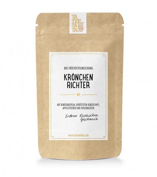 """90g-Tüte Bio Früchte-Tee """"Krönchenrichter"""" TaTeeTaTa"""