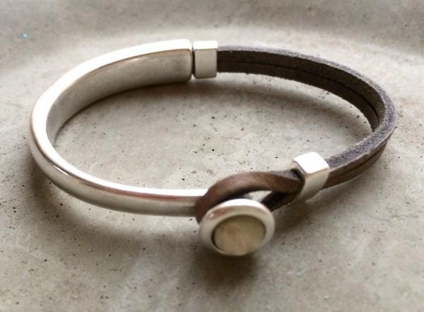 QOSS Armband EVA taupe-creme S