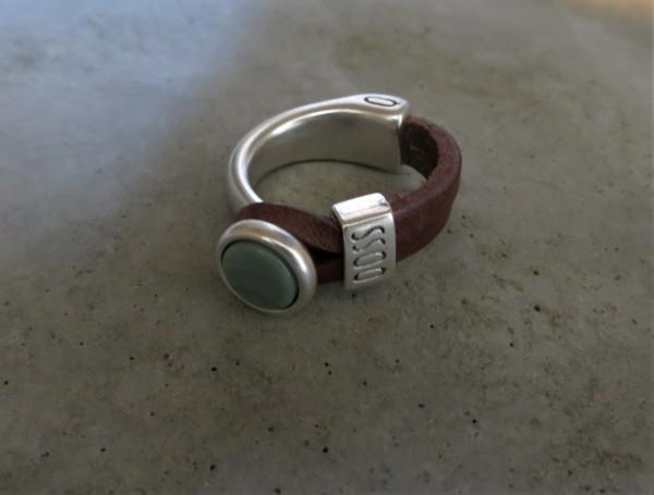 QOSS Fingerring EVA Braun-Seegrün, M