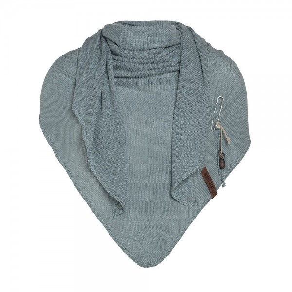 Knit Factory Dreieck-Schal LOLA, Stone Green