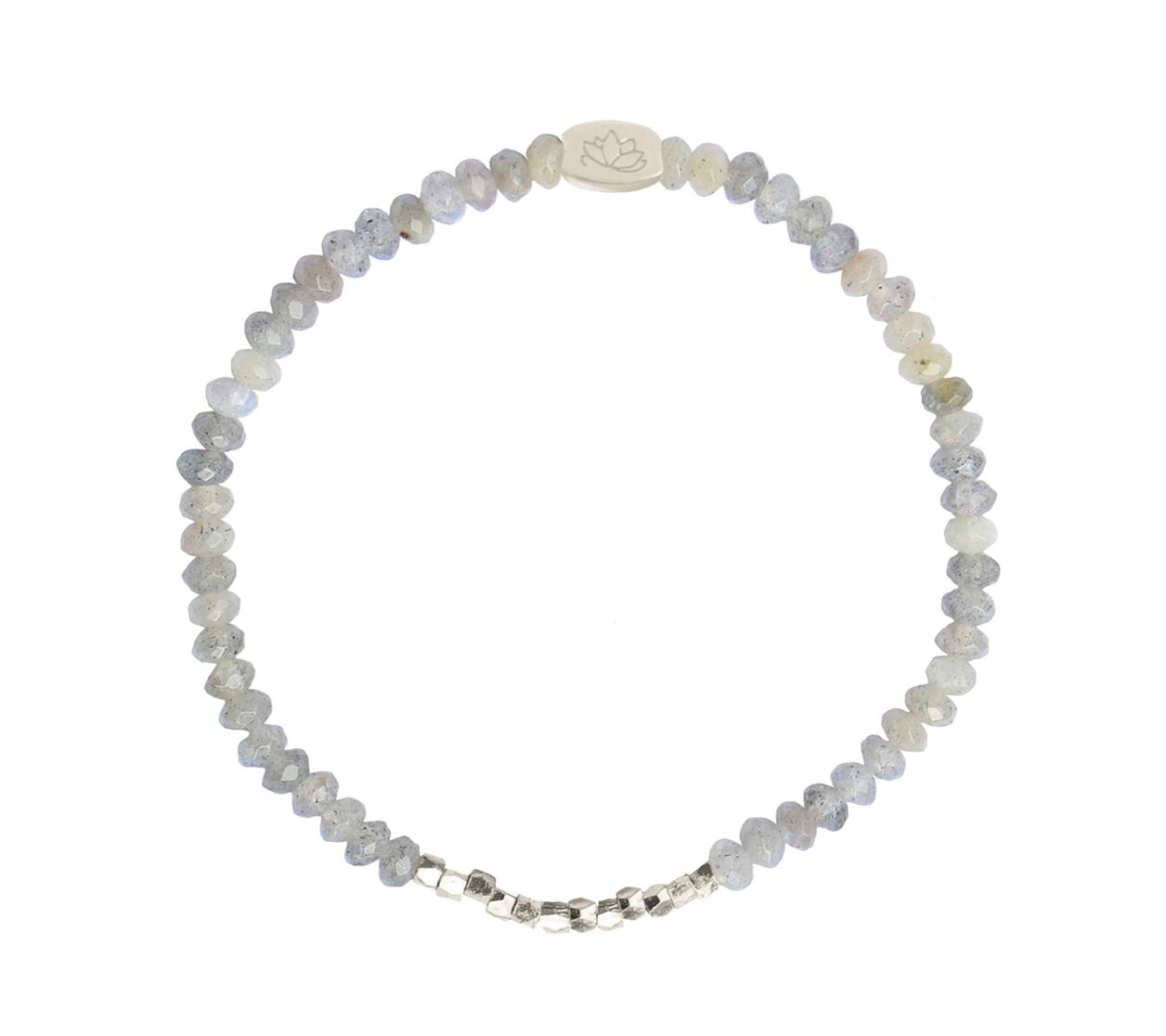 Armbaender für Frauen - MAS jewelz Armband Labradorit Silber  - Onlineshop Tante Emmer