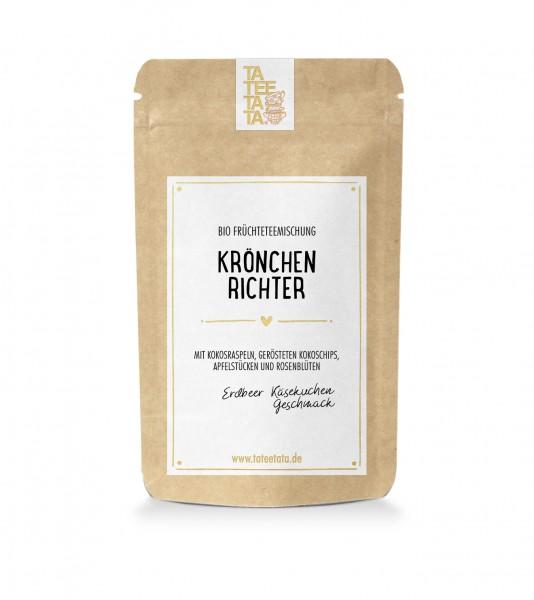 """40g-Tüte Bio Früchte-Tee """"Krönchenrichter"""" TaTeeTaTa"""