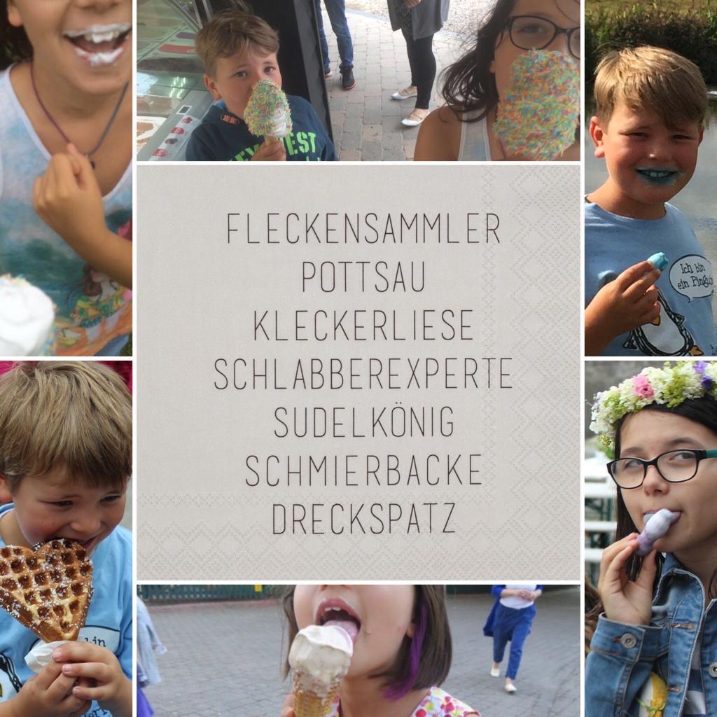Partybedarfpartydeko - Servietten DINING Fleckensammler Pottsau Kleckerliese... 33cm räder - Onlineshop Tante Emmer