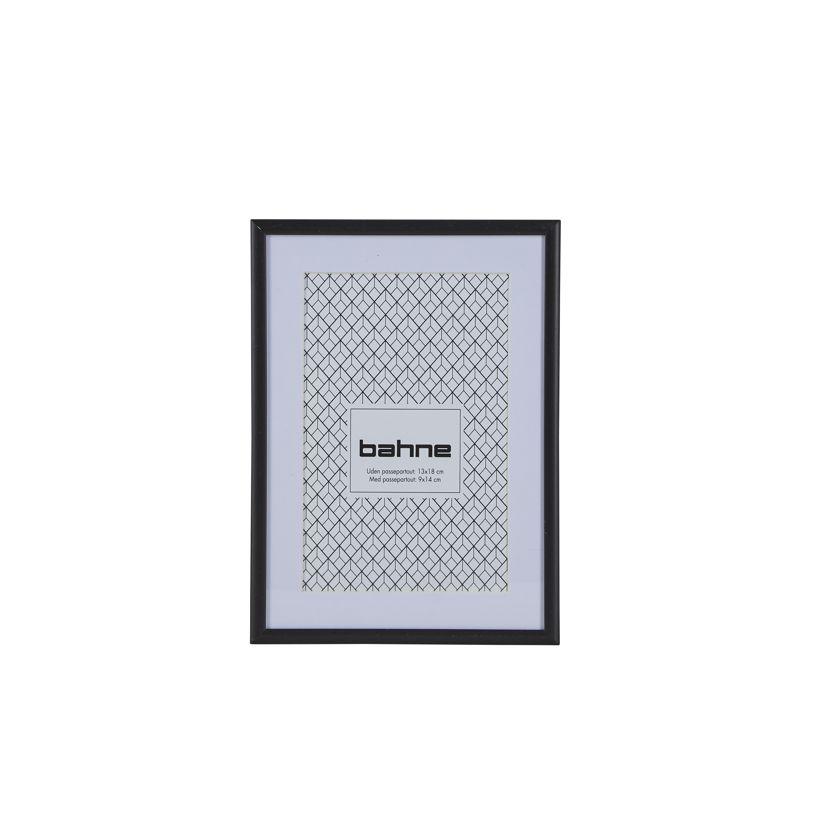 Nützlichwohnaccessoires - schwarzer Bilderrahmen 13 x 18 cm bahne co - Onlineshop Tante Emmer