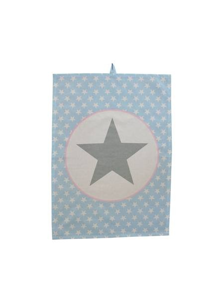 Geschirrhandtuch Blue big star