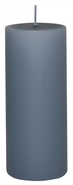 Stumpenkerze taubenblau Ib Laursen 6 x 15 cm