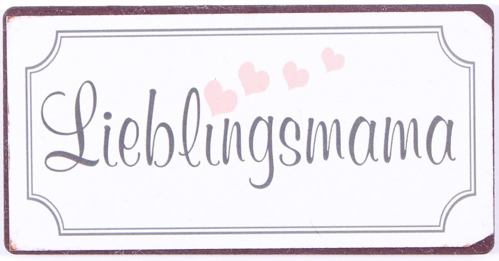 Witzigschilder - Magnet Lieblingsmama - Onlineshop Tante Emmer